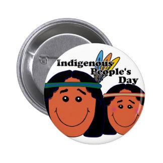 Indigenous People's Day 6 Cm Round Badge