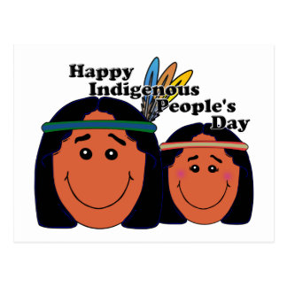 Indigenous People's Day Postcard