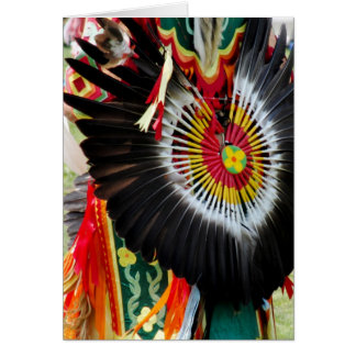 Indigenous Style Greeting Card