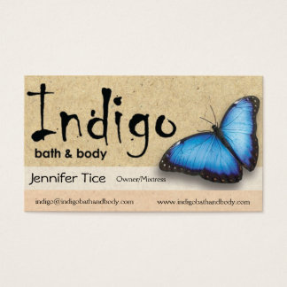 Indigo Biz Cards