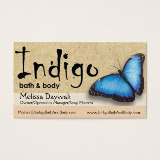 Indigo Biz Cards - Melissa