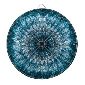 Indigo Blue Mandala Dartboard