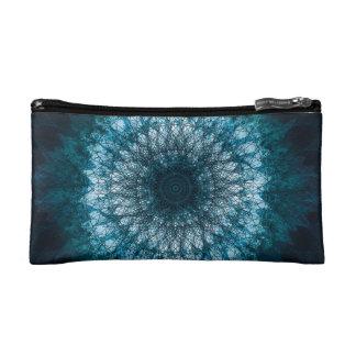 Indigo Blue Mandala Makeup Bag