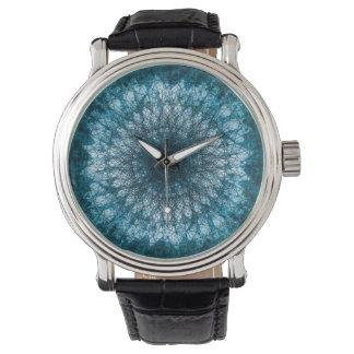 Indigo Blue Mandala Watch