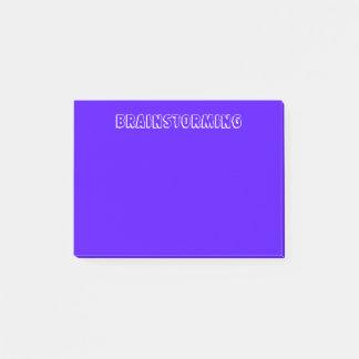 Indigo Brainstorming Post-it Notes