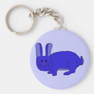 Indigo Bunny keychain