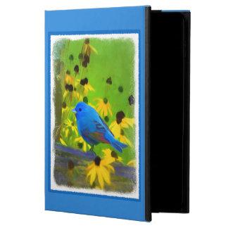 Indigo Bunting Painting - Original Bird Art Powis iPad Air 2 Case