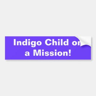 Indigo Child ona Mission! Car Bumper Sticker