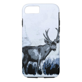 Indigo Deer iPhone 7 Case