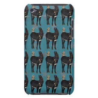 INDIGO DONKEY & OWL iPod Case iPod Touch Case-Mate Case