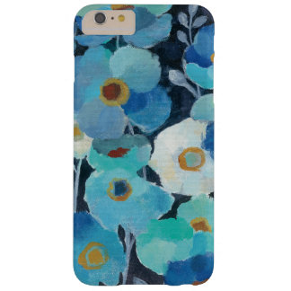 Indigo Flowers Barely There iPhone 6 Plus Case