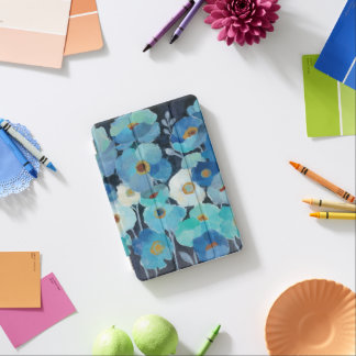 Indigo Flowers iPad Mini Cover