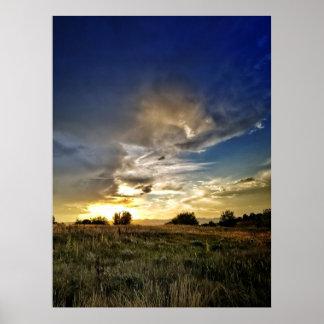 Indigo Hills Park, Highland Ranch, Co Poster