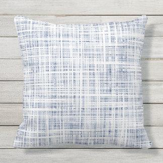 Indigo Lines Cushion