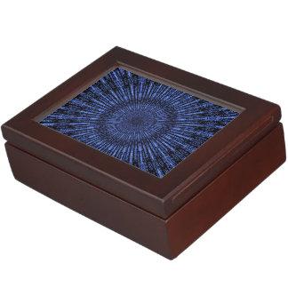 Indigo Medallion Keepsake Box