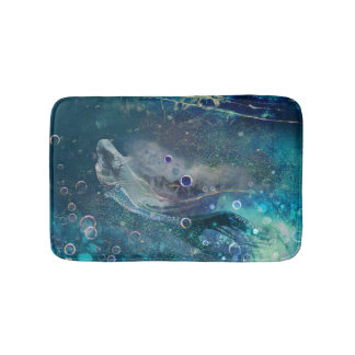 Indigo Mystique Underwater Mermaid Bath Mat