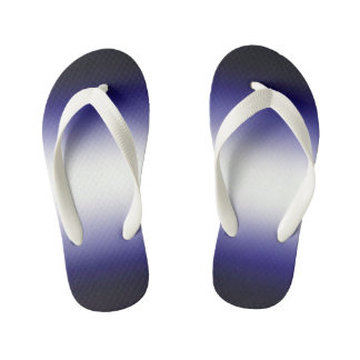 Indigo ocean blue kid's thongs