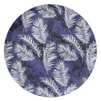 Indigo Palms Plate
