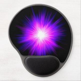 Indigo purple healing flame reiki divine energy gel mouse pad