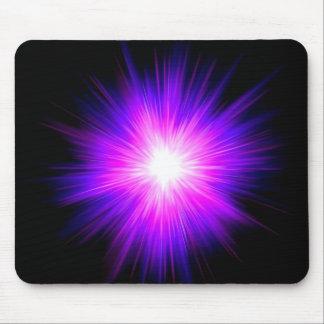 Indigo purple healing flame reiki divine energy mouse pads