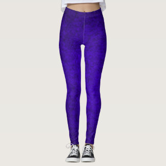 Indigo Queen Plush Leggings