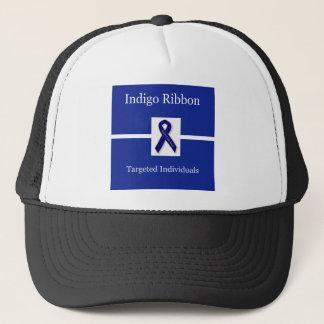 Indigo Ribbon  In Celebration Trucker Hat