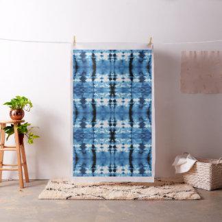 Indigo Silk Shibori Fabric