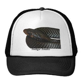 Indigo Snake Cap