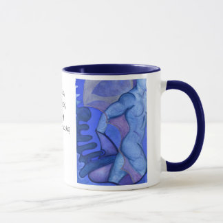 Indigo Warrior Mug