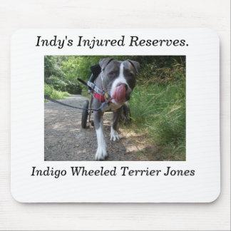 Indigo's mouse pad