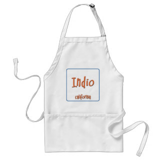 Indio California BlueBox Adult Apron