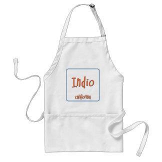Indio California BlueBox Standard Apron