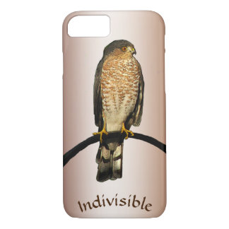 Indivisible Brown Hawk iPhone 8/7 Case