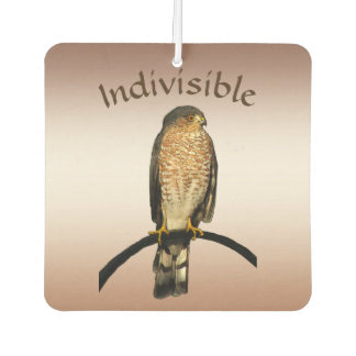 Indivisible Hawk Brown Air Freshener