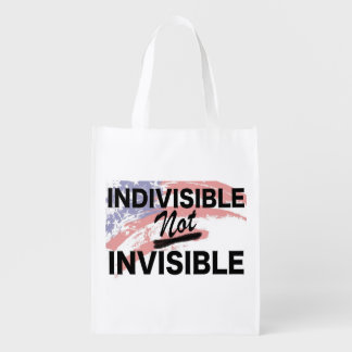 Indivisible NOT Invisible Reusable Bag