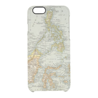 Indo china and Malaysian Archipelago Clear iPhone 6/6S Case