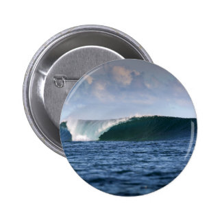 Indo Pacific surfing wave 6 Cm Round Badge