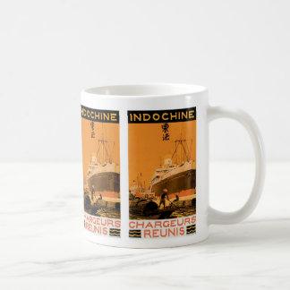 Indochine Chargeurs Reunis Coffee Mug