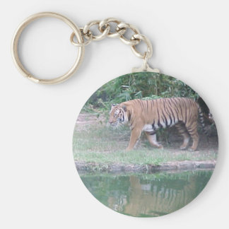Indochinese Tiger Key Ring