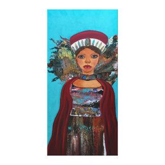 Indomitable Powerful Woman Canvas Print