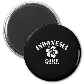 INDONESIA 6 CM ROUND MAGNET