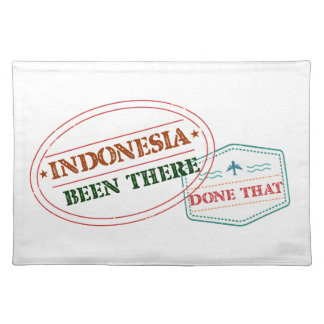 Indonesia Been There Done That Placemat