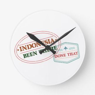 Indonesia Been There Done That Round Clock