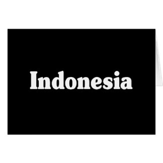 Indonesia Cards
