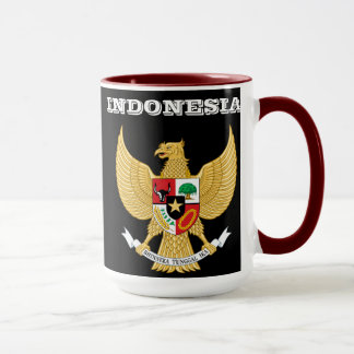 Indonesia Coat of Arms Mug