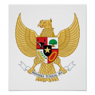 Indonesia Coat Of Arms Posters