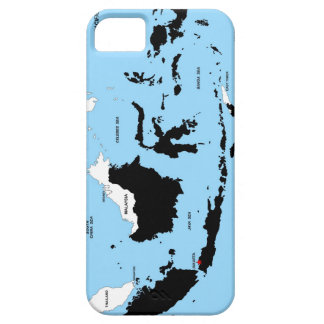 indonesia country political map flag iPhone 5 cases