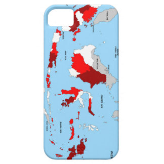 indonesia country political map flag iPhone 5 cover