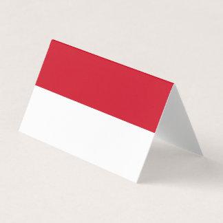 Indonesia Flag Card