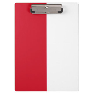 Indonesia Flag Clipboard